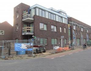 foto bouwplaats Steenstraat