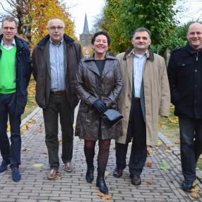 foto kandidaten 2014 in de Mazijk