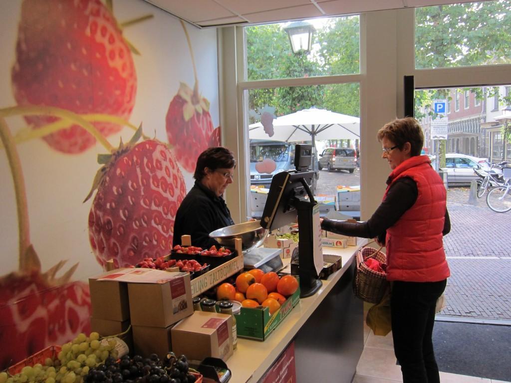 foto groentewinkel binnen