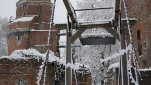 foto van kasteel Duurstede in de sneeuw (via Marijke Dekker)