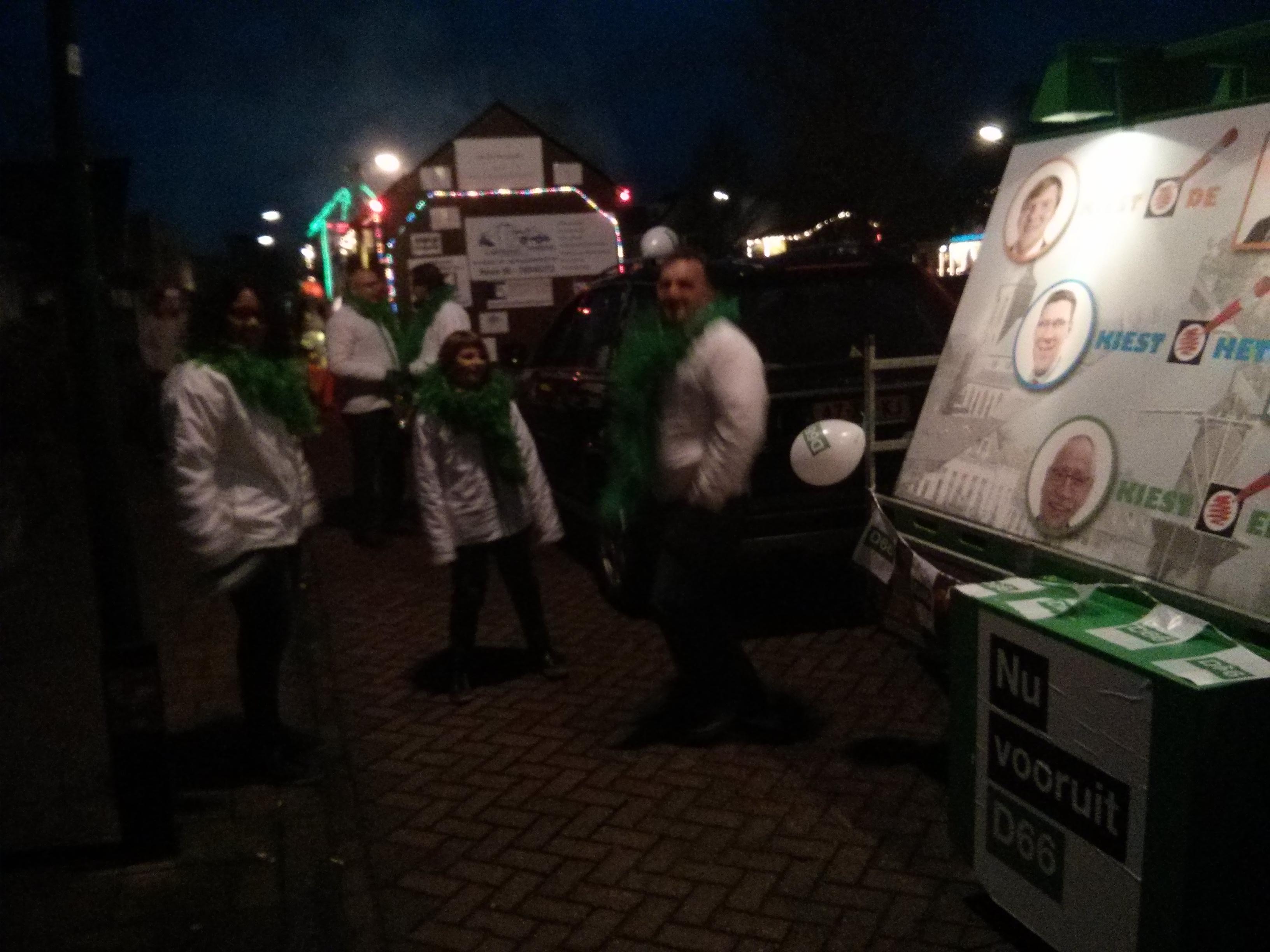 Carnaval in Wijk en Cothen - D66 Wijk bij Duurstede