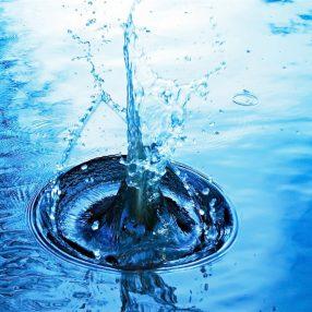 Watergespetter
